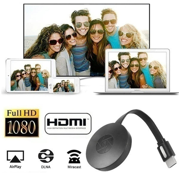 High Quality HDMI Wireless Display Receiver 5G WiFi 4K 1080P Mobile Screen Cast Mirroring Adapter Dongle Chromecast Pusher