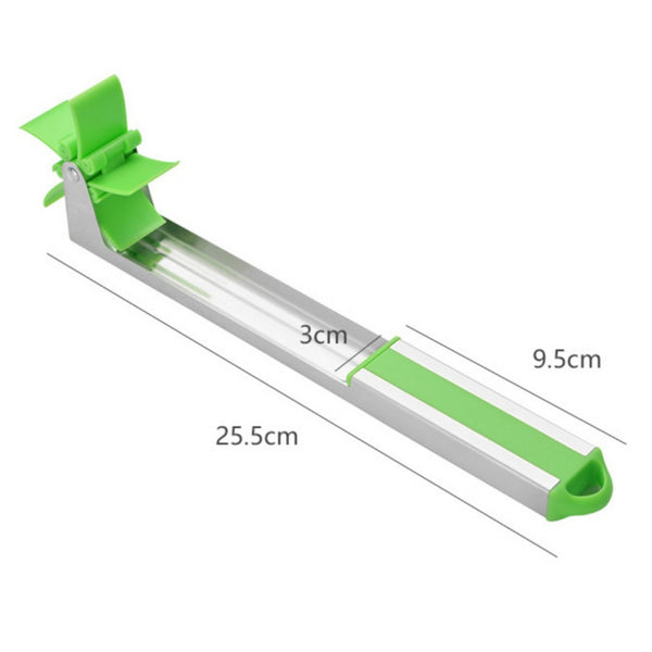 【NEW】Stainless Steel Cutter Windmill Cutler Watermelon Slicer