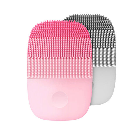 Inface Electric Sonic Facial Cleansing Brush Deep Cleansing Face Massage IPX7 Waterproof Silicone