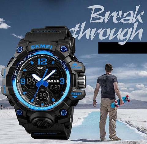 Cool Luminous Waterproof And Anti-Smashing Watch