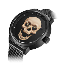 Punk Style 3D Vintage Skull Men Watch
