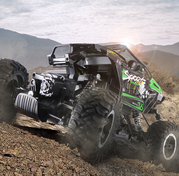 JJRC Q51 MAX 2.4G 1:12 6WD Off-road RC Car Climbing Truck RTR