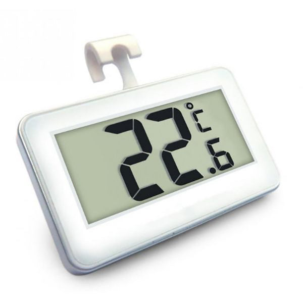 Mini LCD Digital Thermometer Temperature Meter Indoor Electronic Temperature Meter W/Magnet Hook for Refrigerato