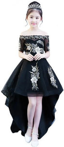 Evening & Formal Pleated Dress For Girls-120CM