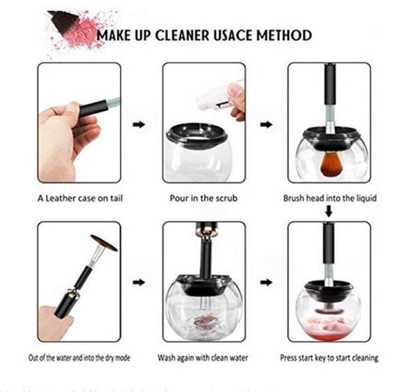 Makeup Brush Cleaner & Dryer Machine