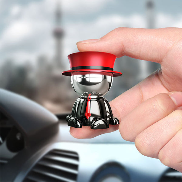Magnetic Car Mount Dashboard Cell Phone Stand Holder 360 degree Rotation Dash Hat man Universal