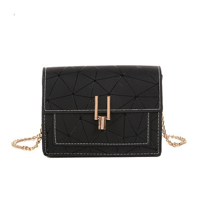 Women Shoulder Bags 2019 summer new Korean version of the Messenger bag handbag chain wild crack printing wild shoulder bag