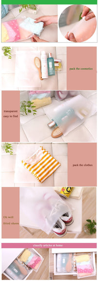 Practical Portable Storage Bags Travel Luggage Partition Storage Bags for Clothes and Underwear Packing Organizer Set
