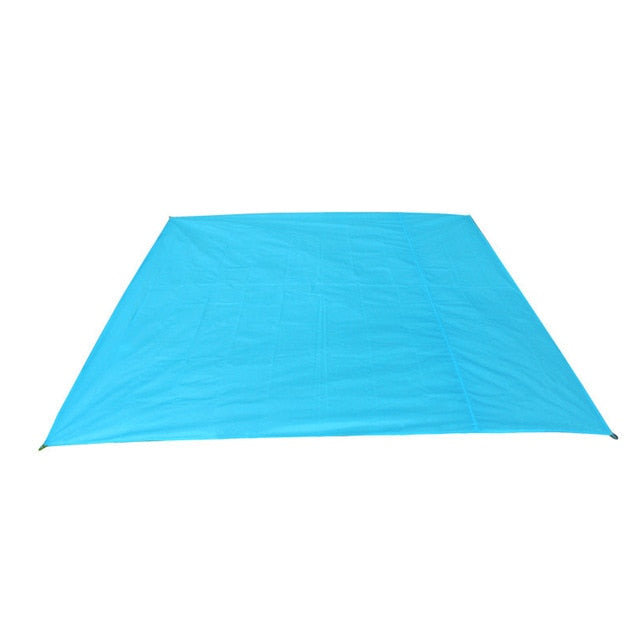 Delicate Promotion Tarp Airbed Waterproof Outdoor Picnic Beach Camping Mat Camping Tarpaulin Bay Play Mat Plaid Blanket