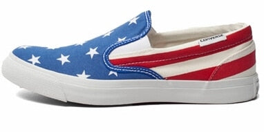 Original Converse all star shoes national flag Color stitching low men women's sneakers canvas shoes classic Skateboarding Shoes