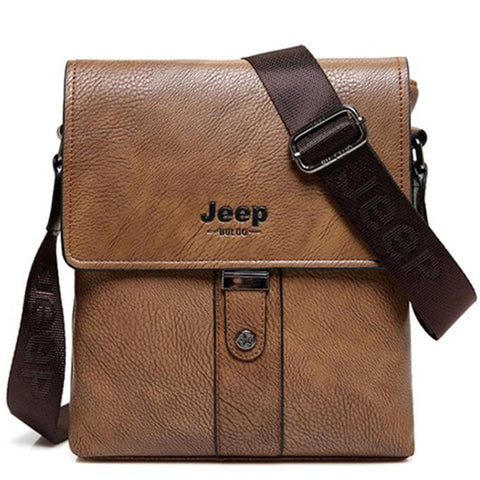 Men Bags Cow Split Leather Fashion Male Messenger Bags Men's Briefcase Man Casual Crossbody Shoulder Bag