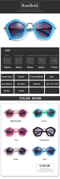 2019 Fashion Kids Arrow Sunglasses Child Girls Sun Glasses UV400 Sun Shade Eyeglasses Sunglass Brand Lunette De Soleil R545