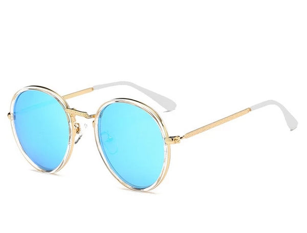 ELITERA Brand Designer Sun Glasses for Children Cool Mirror Polarized Metal Frame Kids Sunglasses Children's Glasses UV400