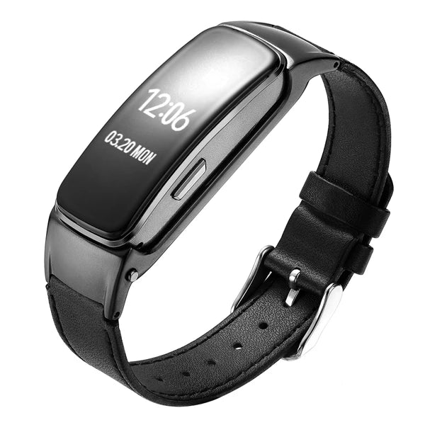 Timethinker B3 Plus Smart Wristband Bracelet Bluetooth Call Answer Fitness Tracker Blood Pressure Heart Rate Monitor Smartband