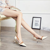 HEE GRAND Bow-knot Women Thin Heels Pumps Women Comfortable Wearing 2018 NEW Trend for the Fashion Shoes Women Heels WXG527