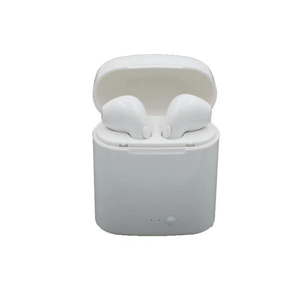 i7S Bluetooth Headset with Charging Bin /Wireless Mini Bluetooth Headset Sports Stereo[اشتر واحدة تحصل على واحدة مجانًا]