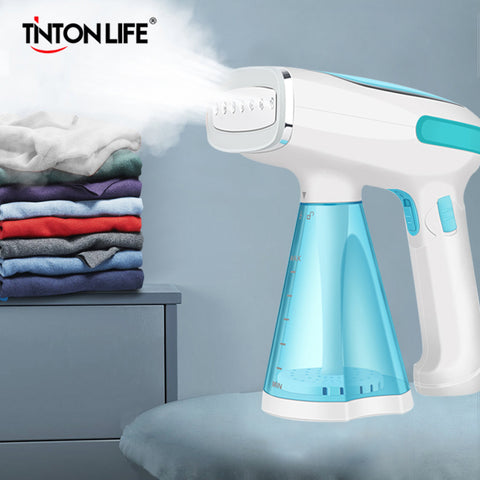 TINTON LIFE Mini Handheld Portable Garment Steamer Travel Electric Steam Brush Iron for Clothes Ironing Machine Home Appliances