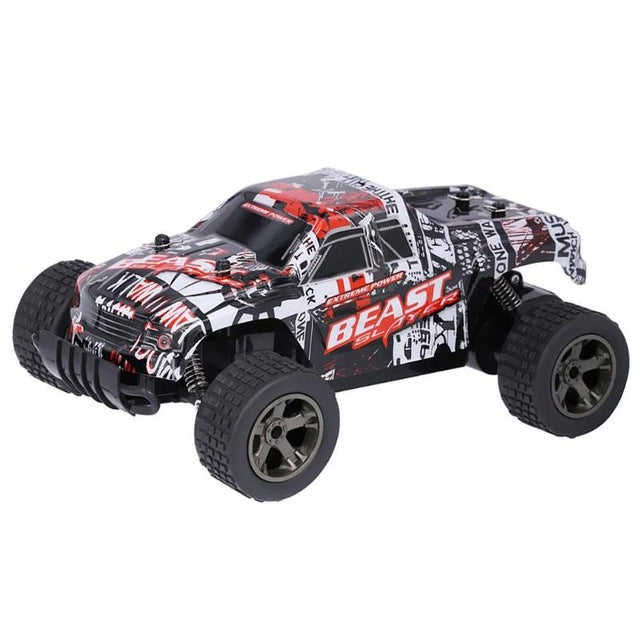 RC Cars Electric High Speed Racing Car Climbing Rock Crawlers Off-Road Pick Up Model Truck Toy Kids Boys Birthday Gifts