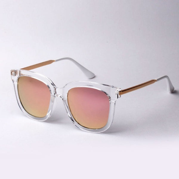 New Arrival Women Large Round Sunglasses Fashion Brand Vintage Metal Frame  Gafas De Sol Sun Glass Eyewear21cn