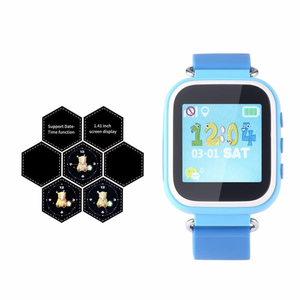 Multifunction T06S Kids Smart Watch LBS Positioning Color Display Multiple Languages With SOS Button Anti Lost Watch
