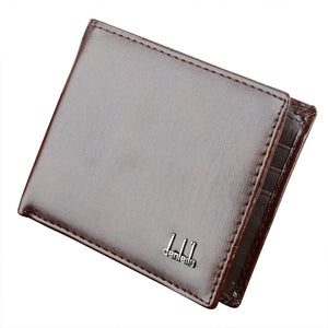 Men's Classic Leather Pockets Credit/ID Cards Holder Purse Wallet
