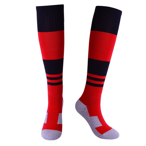 Absorbent Youth Soccer Socks Calf Performance Football Socks Sports Stocking Towel Bottom Tube Socks