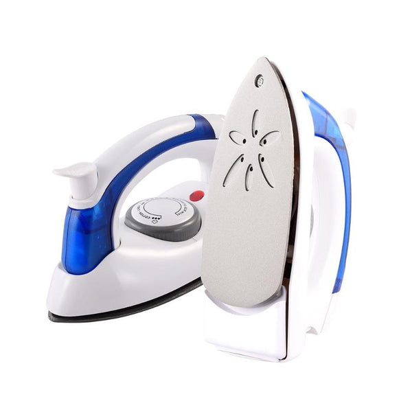 Mini Portable Foldable Electric Steam Iron For Clothes With 3 Gears Teflon Baseplate Handheld Flatiron For Home Travelling