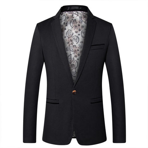Riinr Mens Fashion Brand Blazer British's Style Casual Slim Fit Suit Jacket Male Blazers Men Coat Terno Masculino Plus Size 5XL