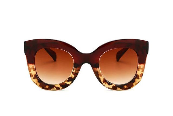 Cat Eye Vintage Sunglasses Women 2018 Fashion Leopard Sun Glasses Sexy Ladies Eyewears UV400 Goggles Oval Glasses