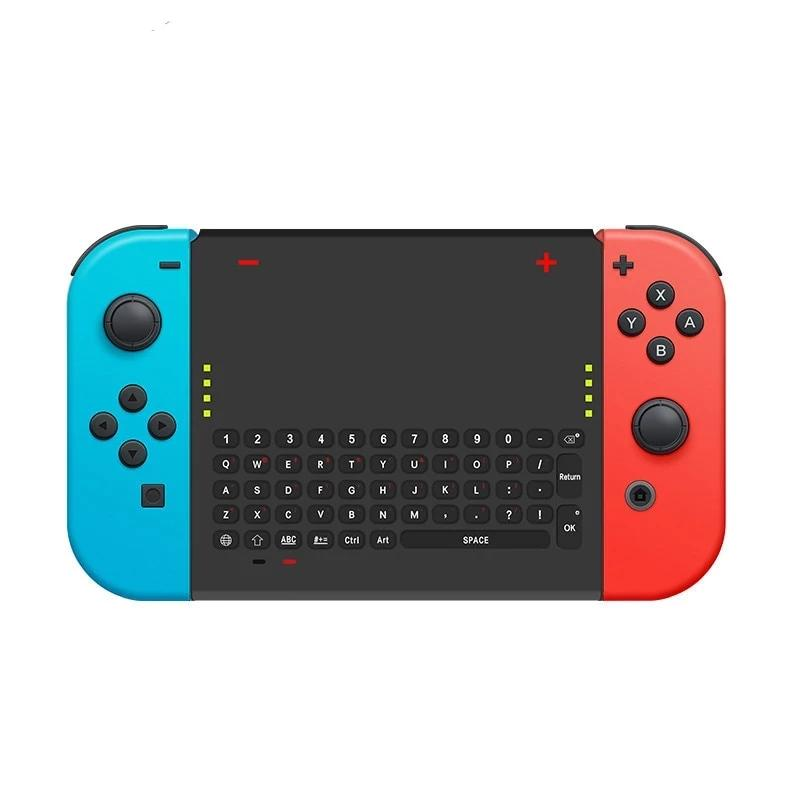Data Frog 2.4 G Wireless Game Keyboard For Nintend Switch Mini Gaming Keyboard Controller For Joy-Con NS Console