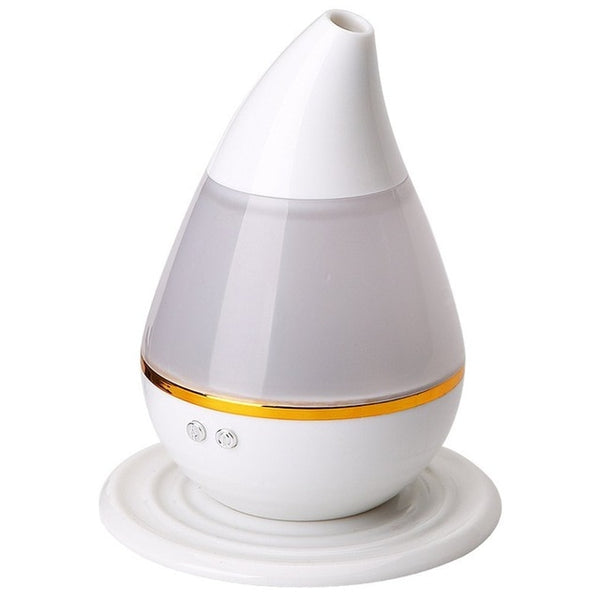 Ultra-Quiet Portable Ultrasonic Air Humidifier 3D Effect Glass Night Lights Aromatherapy Diffuser Best Gift dropshipping