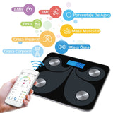 Electronic Weight Bathroom Balance bluetooth LED Digital Body Fat Scale Bathroom Wireless Weight Scale Body Composition Analyzer