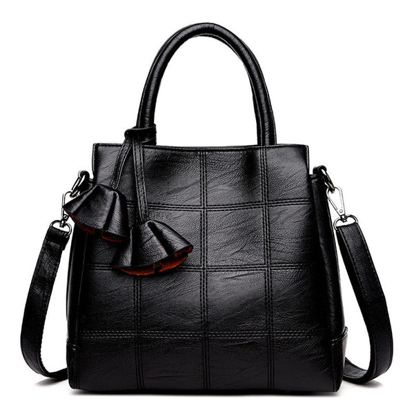 Sac a main Leather Luxury Handbags Women Bags Designer handbags High Quality Women Shoulder Bag Female crossbody messenger bag