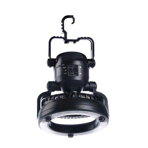 Portable Fan Camping Lantern Outdoor Hanging Flashlight Battery Power / USB Rechargeable Camping Tent Lamp for Hiking Lantern