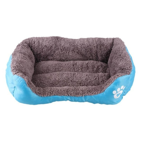 Pet Dog Bed Warming Dog House Soft Material Nest Dog Baskets Fall Winter Warm Kennel For Cat Puppy Pet Supplies