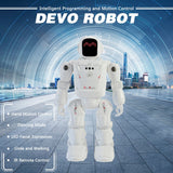 RC Leading RC2108 Smart Dancing Mode Robot Motion Control Programmable Actions Facial Light Sounds RC Toy Kid Gift