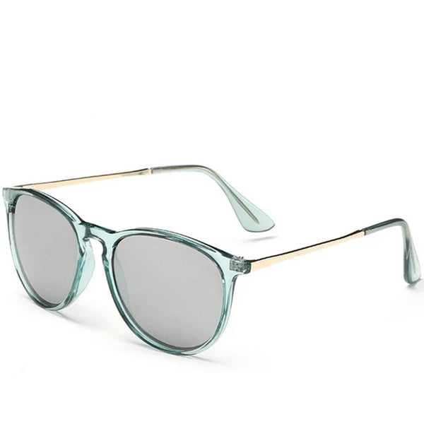 Fashion Sun Glasses Colored Shades Round Sunglasses for Women Tinted Lens Circle Ladies Pink Eyeglasses