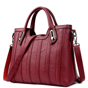 1a7db013a93b8 2019 New European and American Style Women Totes Leather Ladies Clutch  Single Shoulder Bags Crossbody Bags