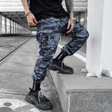 Hip Hip Streetwear Men's Camouflage Cargo Joggers Pants 2019 Spring Men Military Style Harem Trousers Casual Pants Thin WJ220
