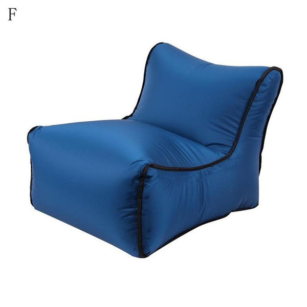 Trend Outdoor Products Fast Infaltable Air Sofa Bed Good Quality Sleeping Bag Inflatable Air Bag Lazy bag Beach Sofa