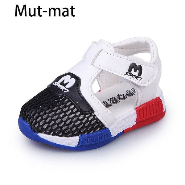 summer new children's  mesh shoes breathable casual shoes sports  boys and girls children's sandals