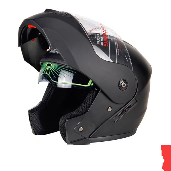2019 New Flip Up Motorcycle Helmet Racing Modular Dual Lens Motocross Moto Helmet Full Face Helmets Casco Moto Capacete Casque #