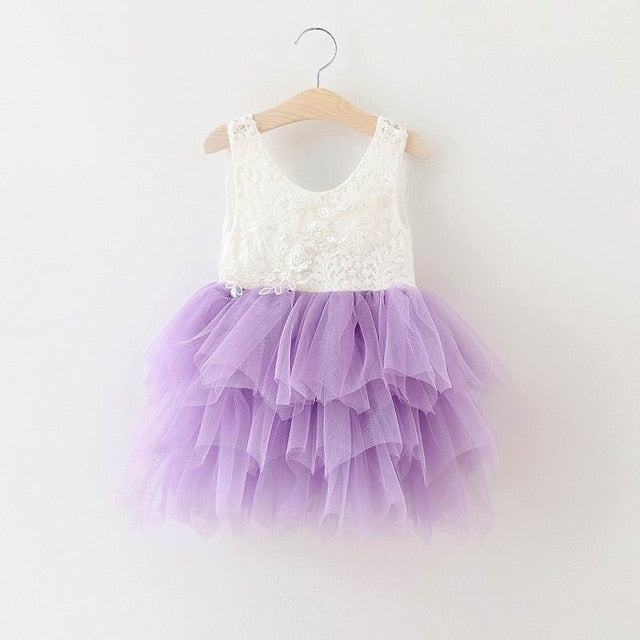 Bear Leader Girls Dresses 2019 New Brand Princess Girls Clothes Bowknot Sleeveless Party Dress Kids Dress for Girls 1-6 Years
