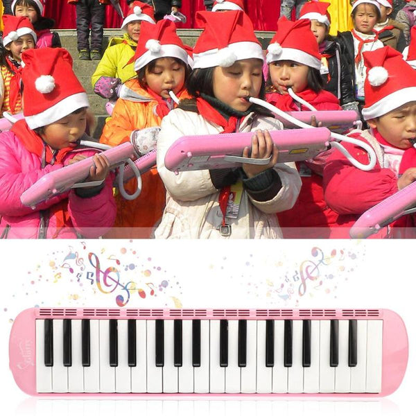 37 Keys PVC Melodica Piano Musical Instrument Keyboard Harmonica Mouth Organ for Student Music Beginners