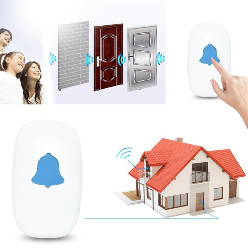 52 Chime Wireless Doorbell Household Safety Intelligent Induction Alarm