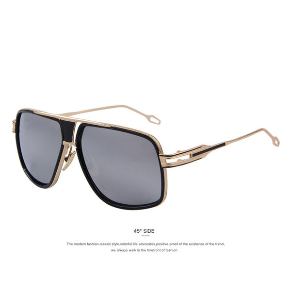 Men's Sunglasses Newest Vintage Big Frame Goggle Summer Style Brand Design Sun Glasses Oculos De Sol UV400