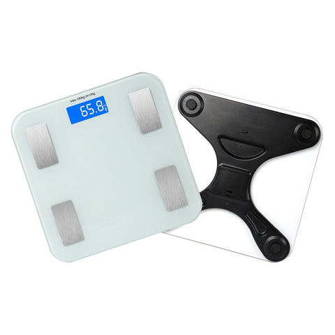 Bathroom Body Mass Fat Scale Floor Scientific Smart Weight Scale Electronic LED Digital Balance Bluetooth APP Android or IOS