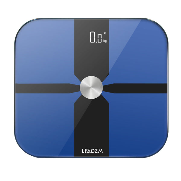 180kg Body Fat Scale Bluetooth Fat Scale Floor Smart Electronic LED Digital Glass Surface Weight Bathroom Balance Bluetooth