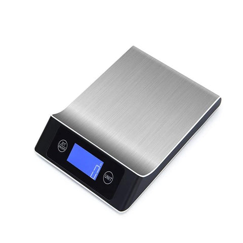 KC-MT560 5kg/1g 10kg/1g Digital Scale Cooking Measure Tool Stainless Steel Electronic Weight Scale LCD Display Kitchen Scale