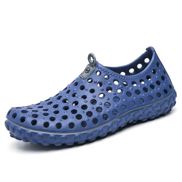 New Summer Man Casual Soft And Comfortable Men's Beach Shoes Wear-resisting Breathable Beach Sandals Jelly Shoes